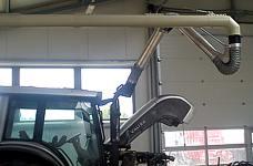 EXA-Absauganlagen Landmaschinen