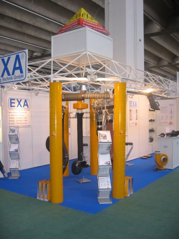 Exhibition Stand Synonym : Automechanika exa absaug technik gmbh